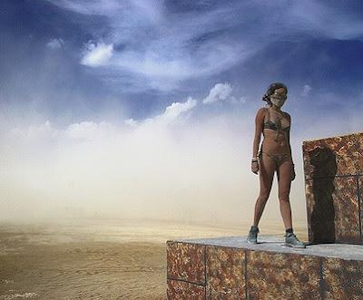 Burningman 2007 - Fred Armitage