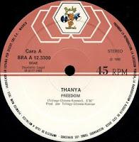 Cover Album of THANYA - Freedom (1983)
