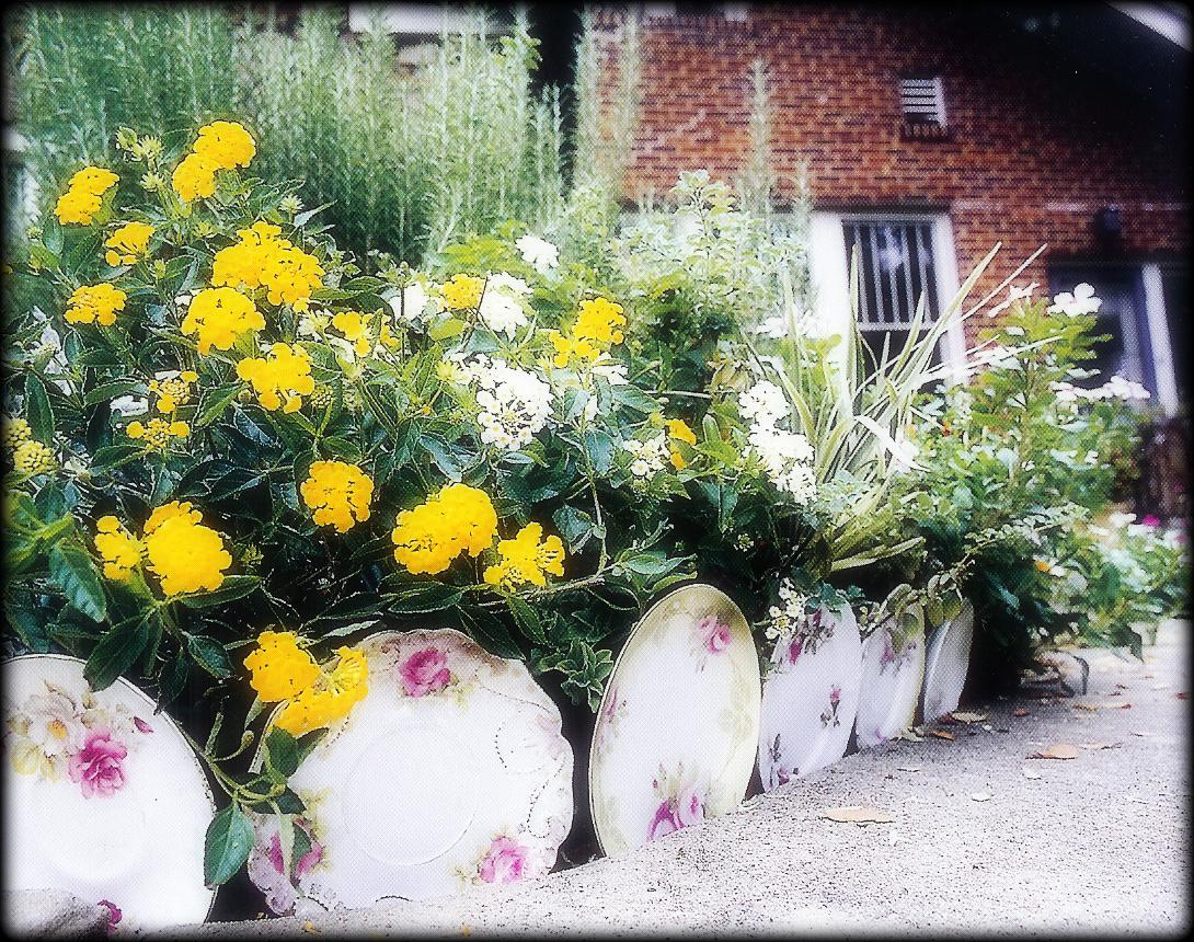 Just Simple Somethings Garden Junk
