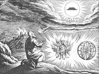 Ezekiel & Flying Saucer