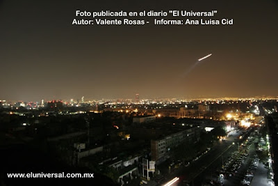UFO Over Mexico City (A) 12-11-07