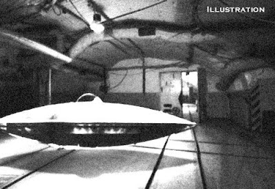 Dulce Underground Room & Flying Saucer