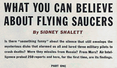 What You Can Believe About Flying Saucers (Heading)