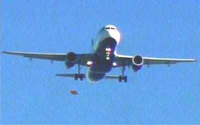 Landing Gear Falling From Plane