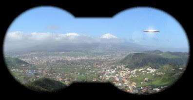 UFO Over La Laguna Tenerife
