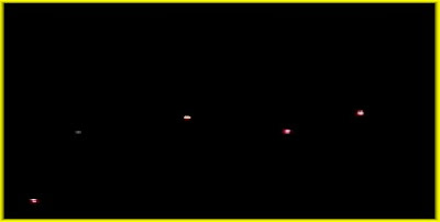 UFOs Photographed Over Arizona 4-21-08 (B Enh Frmd)