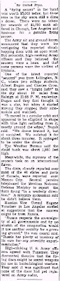 Flying Saucers Now Reported From Nearly All States (Bdy) - The Daily Courier 7-8-1947