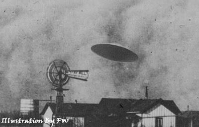UFO Over Aurora Texas 1897
