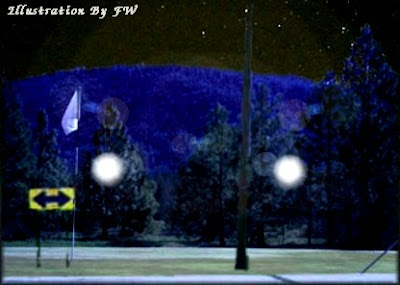 UFO at Golf Cource in Colorado Springs