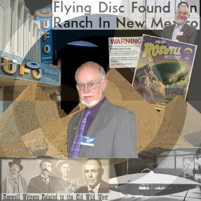 Dennis Balthaser UFO Career Collage