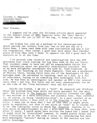 Jacobs' January 14, 1985 letter to Mansmann (1)