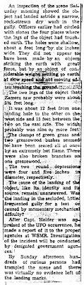 Evidence of UFO Landing Here Observe (Page 3) - El Defensor Chieftan 4-28-1964