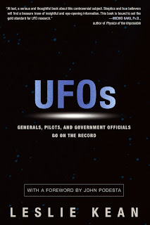 UFOs - Generals, Pilots and Government Officials Go On the Record By Leslie Kean