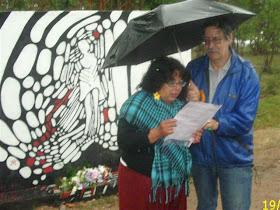 Homenaje a los Fusilados de Soca el 19 de diciembre de 2009