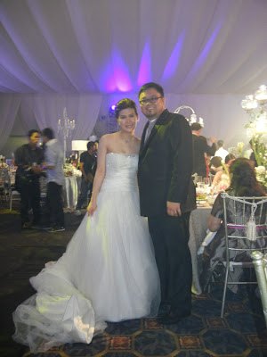 And With The Lovely Bride Roxanne Guinoo Yap