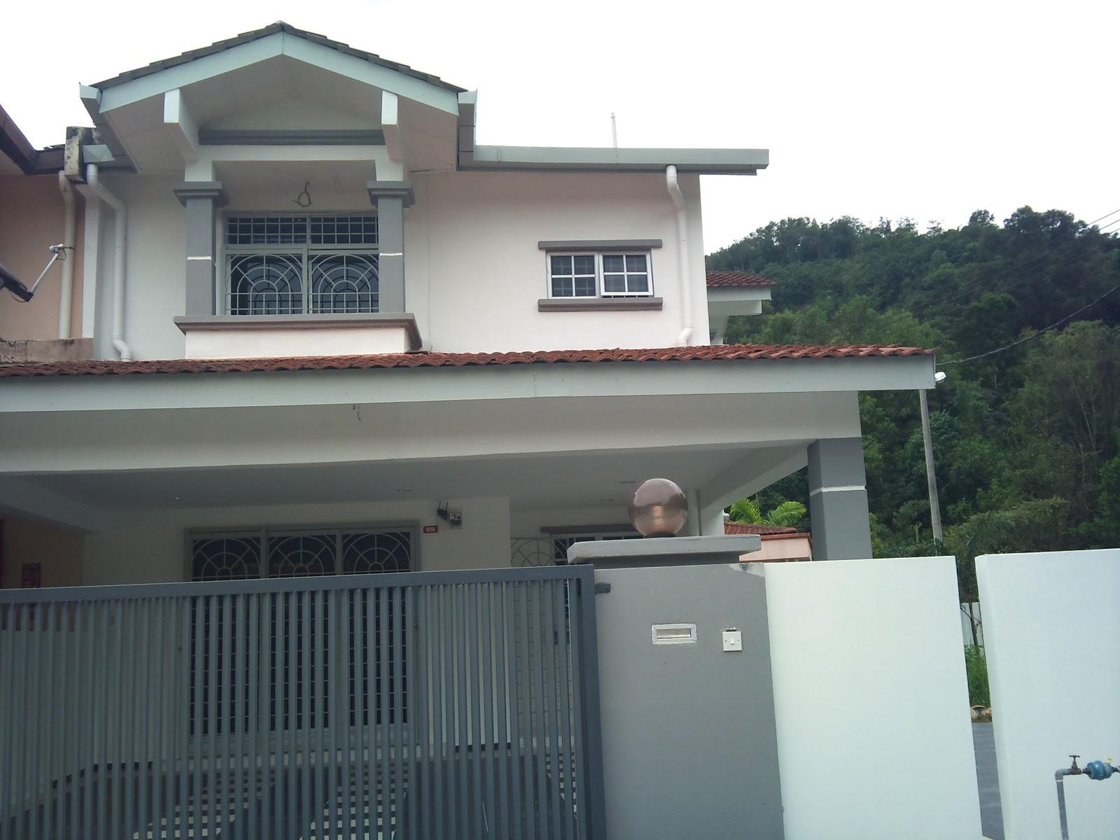 ... For: Tingkat Pelan Lantai Rumah Teres 1 Tingkat Model Rumah Minimalis