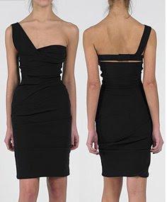 Black Fran Dress by Preen