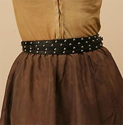 Calleen Cordero Studded Triple Wrap Belt $248