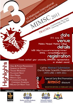 3rd Malaysian International Medical Student Conference (MIMSC) 2011