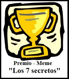 Premio MEME 7 secretos