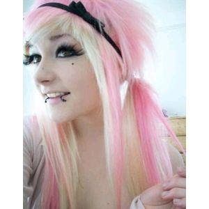 Amazing fashion hair pink highlights pink combination white style hair pink highlights pmusecretfo Images