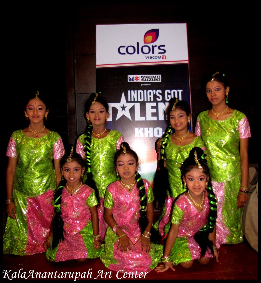 kalaanantarupah art centers colors tv india got talent audition 2nd round team - Colors Tv India