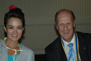 Rotary Club of Glen Eira: The fabulous Yumi Stynes