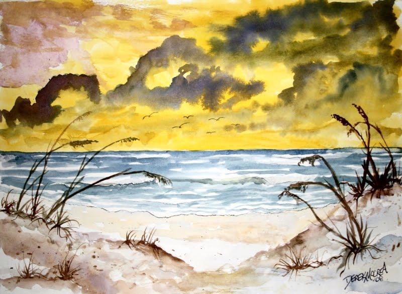 Beach Sand Dunes designer silk