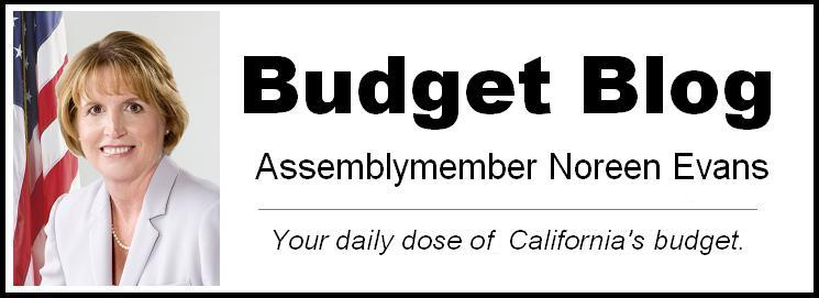 Assemblymember Evans&#39; Budget Blog