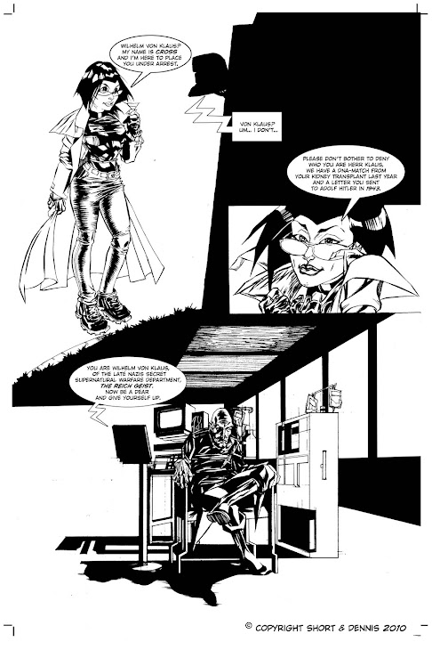 Cross 001 sample page