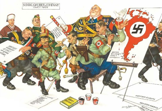 hUMOR pOLÍTICO Caricatura-hitler