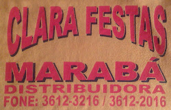 CLARA FESTAS E MARABÁ  DISTRIBUIDORA