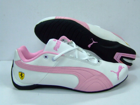 Puma Pink Womens Golf Shoes