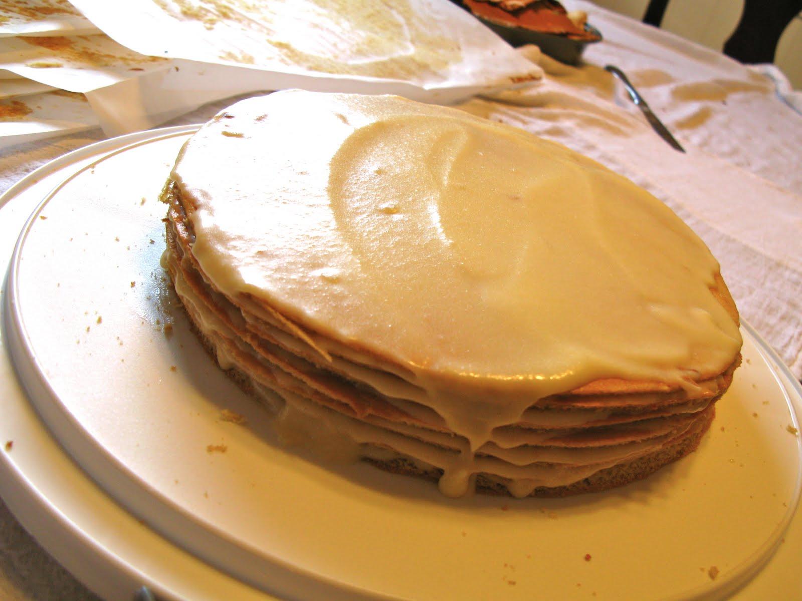 Заварной крем рецепт для медового торта в домашних условиях рецепт с фото