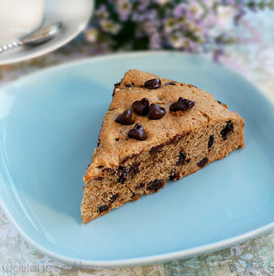 Gluten free chocolate chip scone recipe