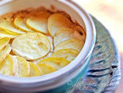 Dairy free vegan scalloped potatoes that are also gluten free with no flour