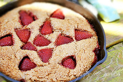 Gluten-Free Goddess® Recipes: Gluten-Free Strawberry Cobbler Cake