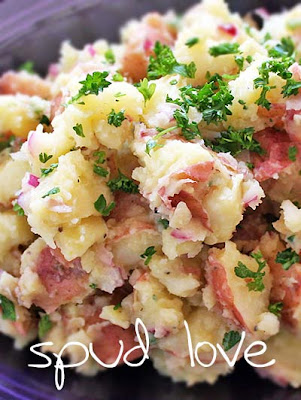 Horseradish Red Potato Salad Recipe