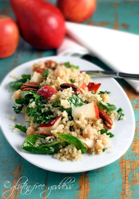 Gluten free vegetarian recipes starting with this autumn quinoa