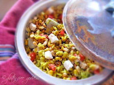 Gluten free rice casserole recipe