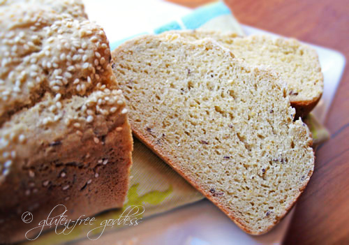 Gluten-Free Goddess Recipes: Gluten-Free Bread and Tea Bread Recipes