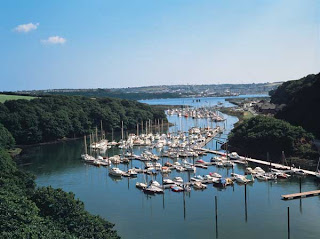 There is a free car park at Neyland Marina. The cycle path runs from here to Haverfordwest. The easy route is popular with families.