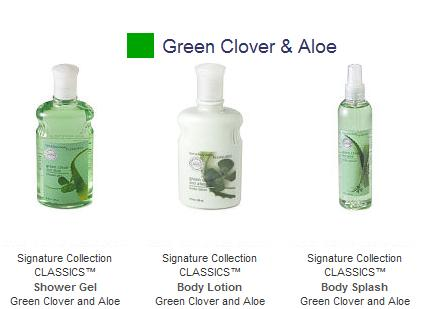 *.*Green Clover & Aloe *.*