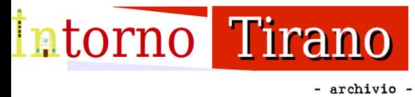 INTORNO TIRANO - ARCHIVIO