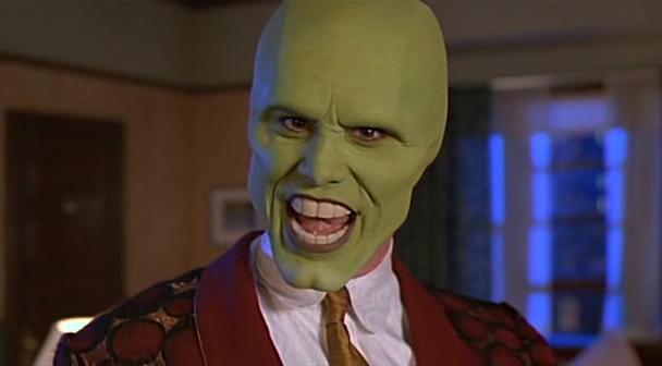 La máscara para la persona el resplandor de la piel la partida de boda
