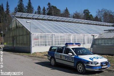 Swedish Police Car