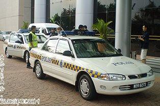Malaysia Police Car