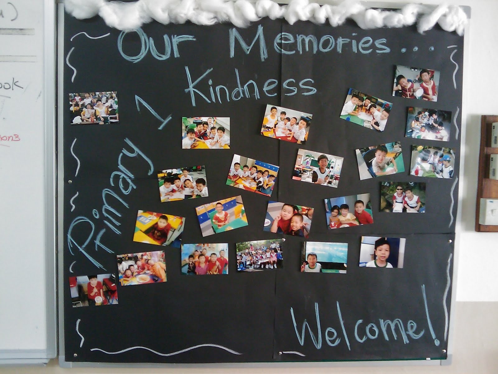 Our young gentlemen primary 2 kindness new decoration for Notice board decoration