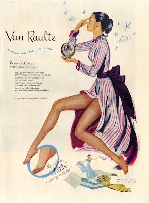 vintage stockings advertising