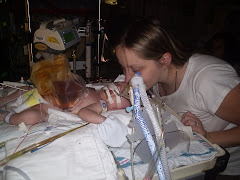Me Kissing Kaden After Surgery